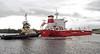 Winter - Berthing at Rothesay Dock - 30 October 2011
