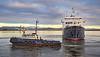 'Hebridean Princess' at James Watt Dock - 19 January 2015