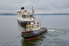 'Biter' Assisting the 'TS Queen Mary' at James Watt Dock - 9 November 2016