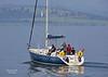 Chimera departing James Watt Dock - 8 September 2021