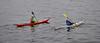 Canoeists at Greenock - 19 October 2021