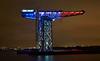Titan Crane (French Colours) in Clydebank - 15 November 2015