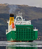 MV Eddystone off Glen Mallan - 17 October 2018