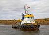 'Dutch Pioneer' Preparing to Depart Irvine - 20 September 2013