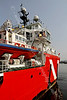Vos Pathfinder arriving at James Watt Dock