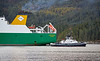 SD Dependable Assisting MV Eddystone at Glen Mallan - 17 October 2018
