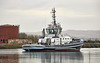SD Tempest at Great Harbour in Greenock - 10 March 2021
