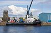 SD Impetus at James Watt Dock, Greenock - 10 August 2021