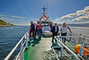 Off Cloch Lighthouse on Our SD Eva Day Trip - 17 July 2014