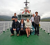 Serco Team Aboard the SD Eva - Loch Long - 10 June 2013
