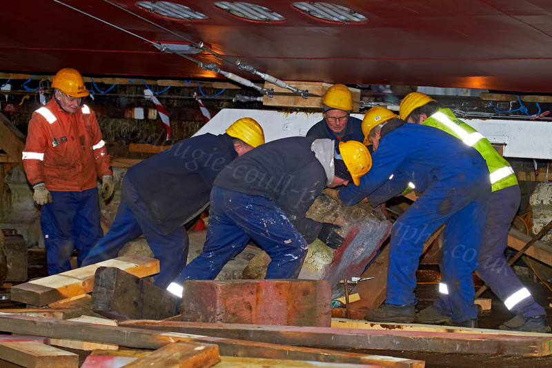 Final Work Taking Place - Ferguson's Shipyard - 17 December 2012