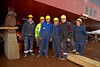 Launch Workers - Ferguson's Shipyard - 17 December 2012