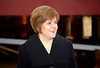 Nicola Sturgeon Who Launched the Hallaig at Ferguson's Shipyard - 17 December 2012