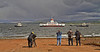 Heading to the Fitting Out Quay - Ferguson Shipbuilders, Port Glasgow - 23 May 2013