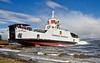 MV Lochinvar Makes a Splash - Ferguson Shipbuilders, Port Glasgow - 23 May 2013