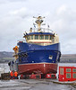 Kallista Helen at Ferguson Marine Shipyard - 12 March 2021