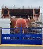 Hull 802  at Ferguson Marine Shipyard - 3 September 2021