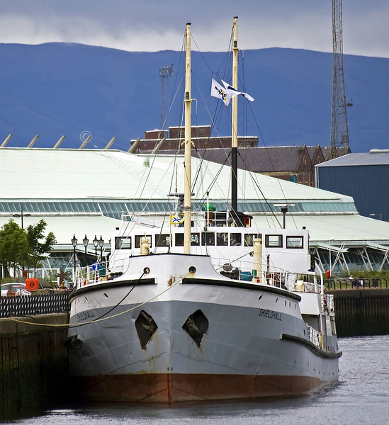 SS Shieldhall - Tied Up