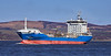 'Nordic' passing Custom House Quay, Greenock - 1 April 2021