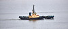 Seal Carr with hopper barge Sliedrecht-N (B306) off Langbank - 23 June 2021