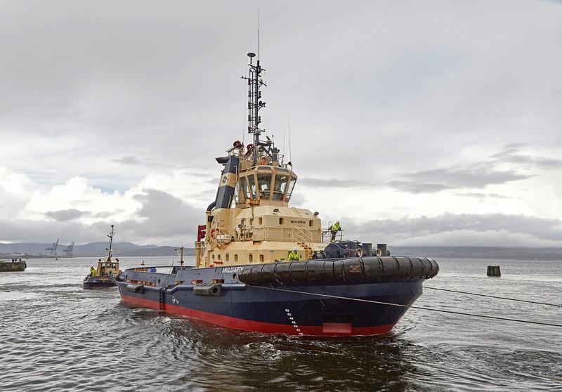 'Anglegarth' at James Watt Dock - 30 September 2016