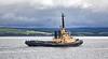 Seal Carr with hopper barge Sliedrecht-N (B306) off Port Glasgow - 23 June 2021