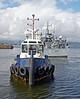 'Battler' Moving HMS Penzance - Garvel Dry Dock - 20 August 2012