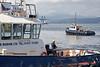 'Battler' and 'Beaver Bay' Moving HMS Penzance - Garvel Dry Dock - 20 August 2012