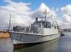 HMS Penzance Dock Move - James Watt Dock - 20 August 2012