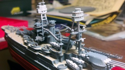150311 BB-39 upgrades: Aft Fighting Top from 3D Model Parts