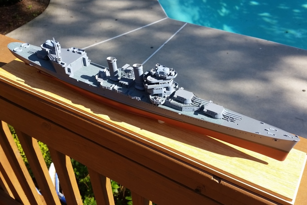 160516: CA-38; Out in the sun with her new wood deck.
