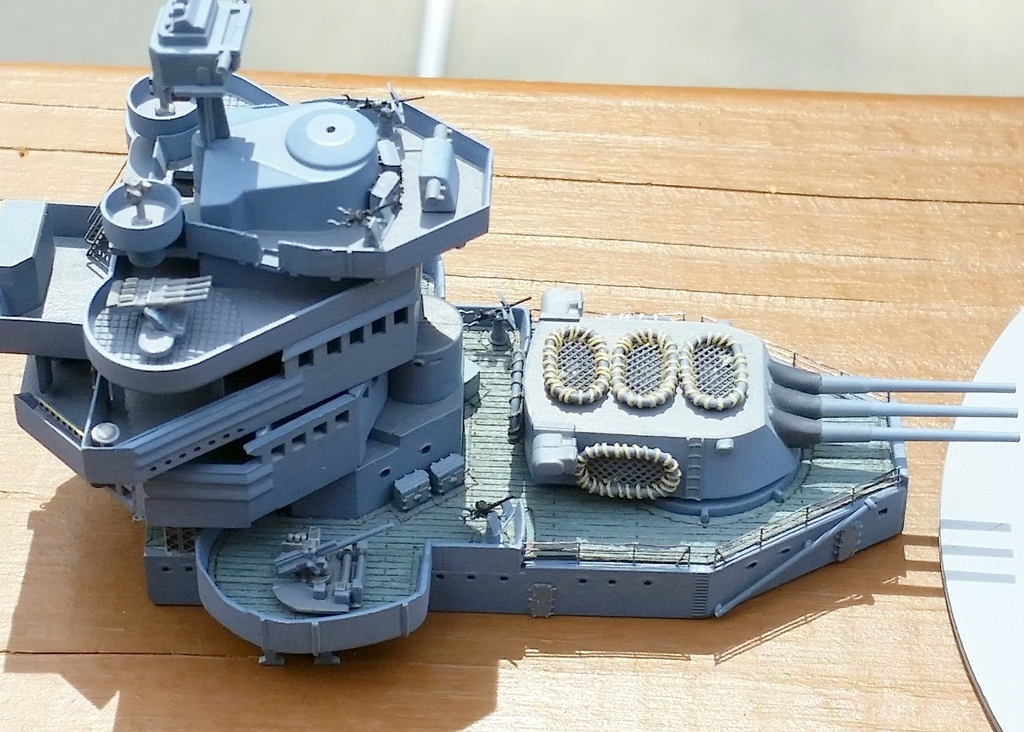 1608317: CA-38 Progress.  20mm replaced with 3D printed units from 3DModelParts.com