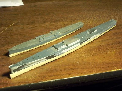 090304 Basswood bottom for USS San Juan (CL-54)