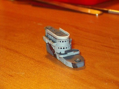 060927 USS San Juan (1/700 Skywave Atlanta).  Corrected, narrower flying bridge.
