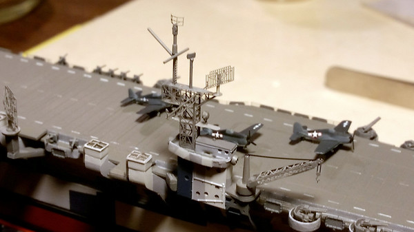 180128: CVL23 Nearing Completion.  SC antenna, mast, crane are all GMM PE.