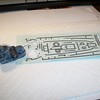 Upgrading DD-491 with non-skid strips.  Decal sheet is high-res scan from Dragon Buchanan kit, laser printed on decal film, and sealed with Microscale Liquid Decal Film