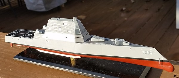 161116 DDG1000 Nearing completion.