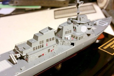 170121 DDG78 Advanced construction.  Aftermarket railings on 01 Level.