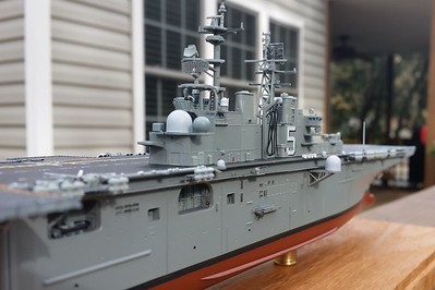 151108: LHD-5 progress shot.  Note the RAS delivery hose (fine solder on three eyelets from twisted copper wire).