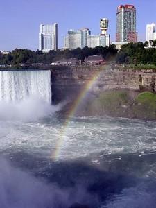 Horseshoe Falls with Rainbow