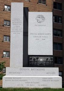 Memorials at Buffalo Naval Park