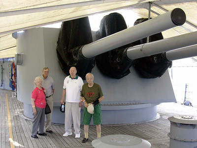 Eight INch Battery of the USS Little Rock