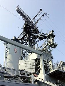 Radars of the USS Little Rock
