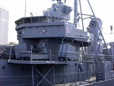 Bridge of the USS Sullivans
