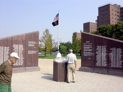 Vietnam Vets Memorial at Buffalo Naval Park