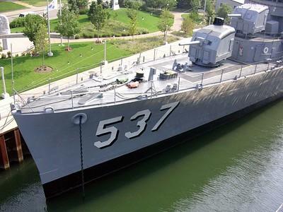 USS Sullivans Bow