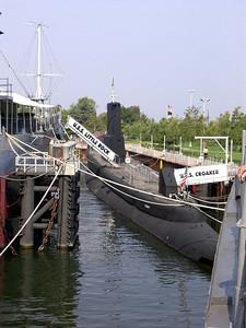 USS Croaker Submarine
