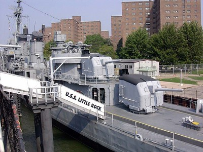 USS Sullivans aft 5 inch Batteries