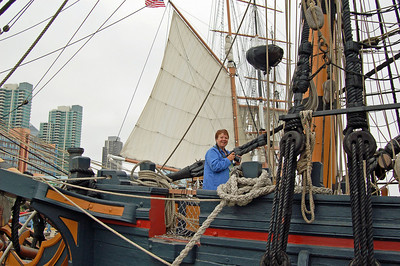 Rigging of the HMS Surprise