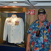 Frank in the Captains Wardroom